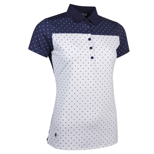 Glenmuir Gina Polka Dot Polo Shirt