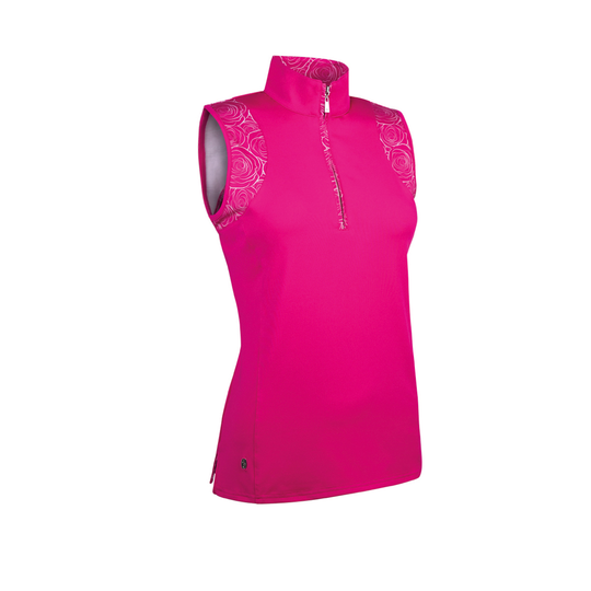 Glenmuir Azalea Sleeveless Top